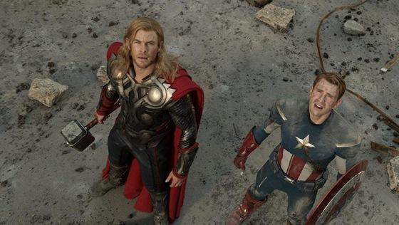Z filmu The Avengers