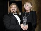 Český lev 2012 - Dagmar Havlová a šéf České filmové a televizní akademie Petr