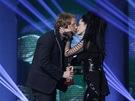 Ceny And�l 2012 - Tom� Klus (zp�v�k roku) s Luci� B�lou
