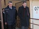 Ministr spravedlnosti Jiří Pospíšil (vpravo) s generálním ředitelem Vězeňské