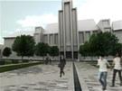 Vizualizace opraveného Náměstí 28. října.