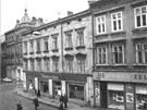 Původní zástavba v místě, kde vyrostl obchodní dům Prior, nyní Galerie Moritz.