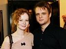 Anna Linhartová s partnerem Tomášem