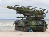 Raketový systém 2K12 - KUB ve výzbroji české armády