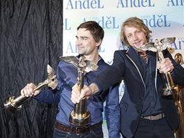 Ceny Anděl 2012: Tomáš Klus a Jiří Kučerovský
