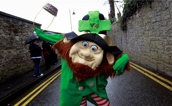 Den svatého Patrika, patrona Irska, který do země přinesl křesťanství, se slaví...