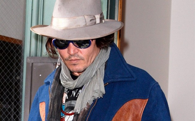 Johnny Depp (New York, 27. února 2012)