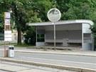 Funkcionalistická zastávka na Obilním trhu v Brně