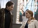 Z filmu Akta X: Chci uvěřit - David Duchovny a Gillian Andersonová