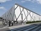 Vizualizace pl�novan� budouc� podoby olomouck�ho zimn�ho stadionu a bl�zk�ho...