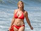 Nicole Eggertov� b�hem reality show Celebrity Fit Club (2009)