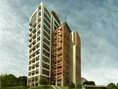 Bytový dům nabídne téměř čtyři stovky bytů.
