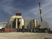 �r�nsk� jadern� elektr�rna v B��hru na archivn�m sn�mku