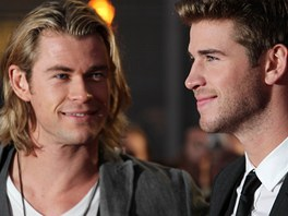 Chris Hemsworth a jeho bratr Liam