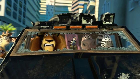 Z filmu Madagaskar 3