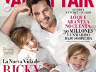 Ricky Martin a jeho dvojata Matteo a Valentino na titulce panlskho vydn