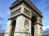 Pa��sk� V�t�zn� oblouk dal postavit Napoleon Bonaparte na znak sv� moci a