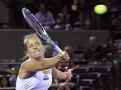 Barbora Z�hlavov�-Str�cov� na turnaji v Miami