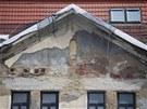 Současný žalostný  stav módního domu Ostravica-Textilia v centru Ostravy. (30....