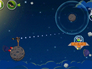 Angry Birds Space - Pravidla hry se nemění, pouze je rozšiřuje přítomnost...