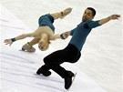 Německá sportovní dvojice Aljona Savchenková, Robin Szolkowy na mistrovství