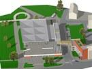 Vizualizace nové podoby hlavní části výstaviště Flora.