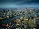 Mrakodrap Střep vysoký 310 metrů má 72 obytných poschodí a dalších 15 pater...