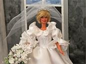 Vzne�enost na pokra�ov�n�, princezna Diana ve svatebn� den. P��prava v�stavy...