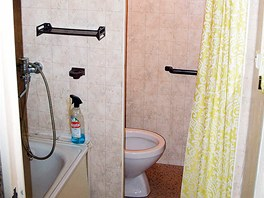 Původní koupelna s WC