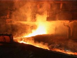 Odpich surového železa.