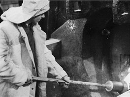 Stanislav Najvert zapálil 1. ledna 1952 vysokou pec č1. (vysoká pec č. 1 již...