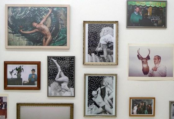 Pohled do v�stavy Roberta Carritherse v pra�sk� Fotograf Gallery