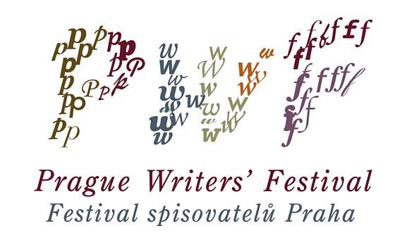 Logo Festivalu spisovatel� Praha