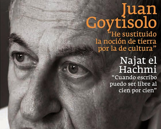 Juan Goytisolo na titulu �asopisu Mercurio