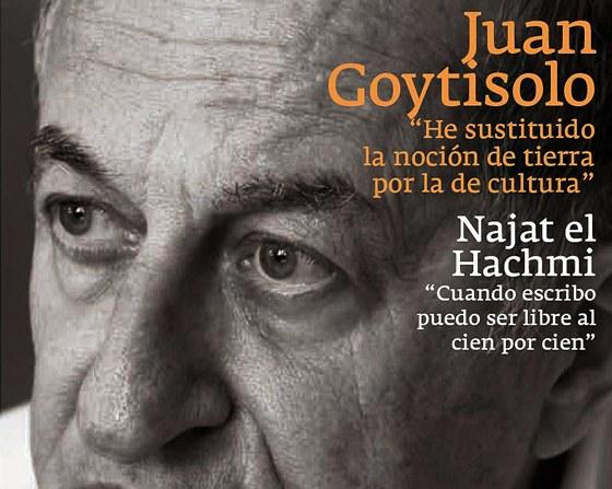 Juan Goytisolo na titulu časopisu Mercurio