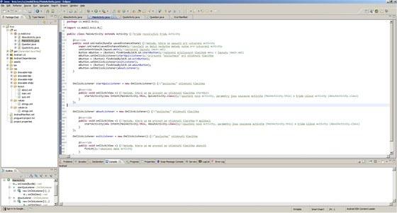 Programování pro OS Android