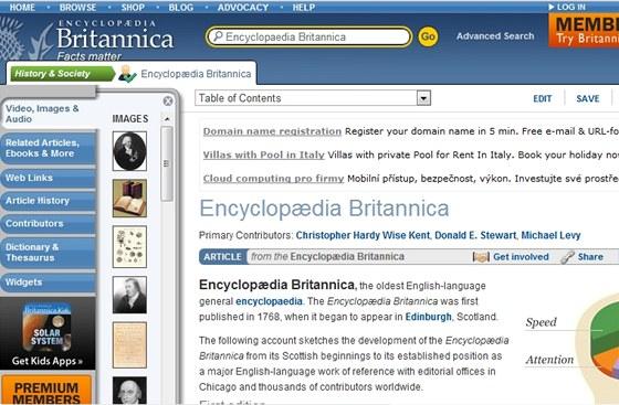 Encyklopedie Britannica svíce než 240letou historií již bude kdispozici pouze