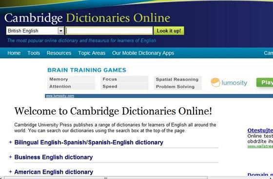 Tam kde nepomůže ani encyklopedie se nabízí využití výkladového slovníku,