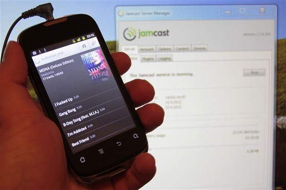 Jamcast pro Android