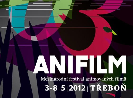 plakát Anifilm Třeboň 2012