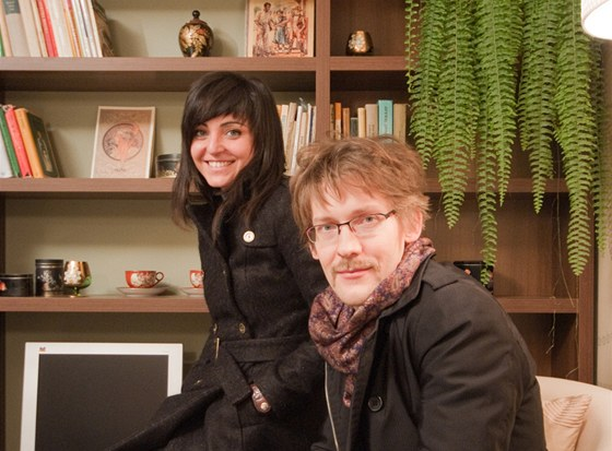 Karolina Reslerová a Petr Záluský