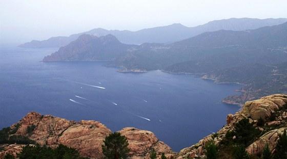 Vrchol Capu d´Orto (1 293 m) poskytuje unikátní pohled na Portský záliv.