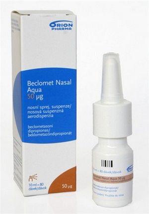 beclomet nasal aqua