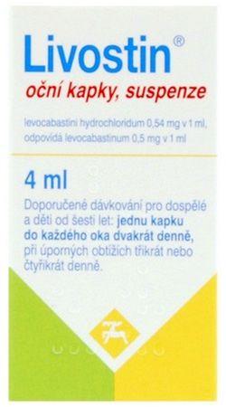 Livostin ocni kapky 4ml