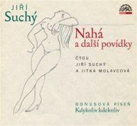 Jiří Suchý: Nahá a další povídky (obálka CD)