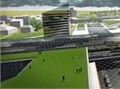 Cílem návrhů také bylo předělat území nádraží tak, aby navíc nabídlo plochy k