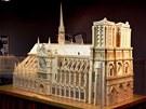 Hotový model katedrály Notre Dame