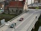 Havlíčkobrodský most u kostela svaté Kateřiny v Dolní ulici bude až do konce
