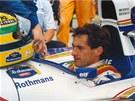 Senna se po celou kari�ru nevzdal sv� p�ilby v n�rodn�ch barv�ch Braz�lie.