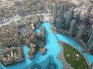 Pohled z nejvyšší budovy světa